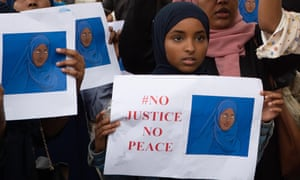 Members of the UK Somali community march on parliament in July calling for a formal investigation into Shukri Abdi's death