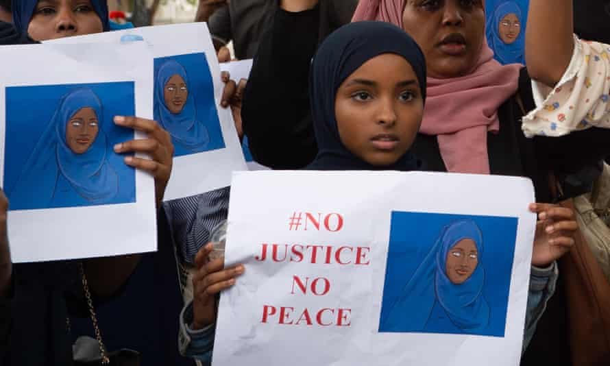 Campaigners staged a march in Westminster last week calling for justice for Shukri Abdi.