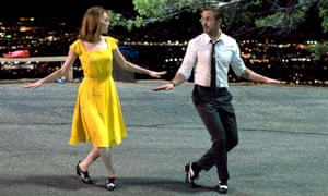 Film of the year? … Emma Stone and Ryan Gosling in La La Land.