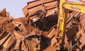 The driver of the 2km-long train filled with iron ore that derailed has lodged an unfair dismissal claim.