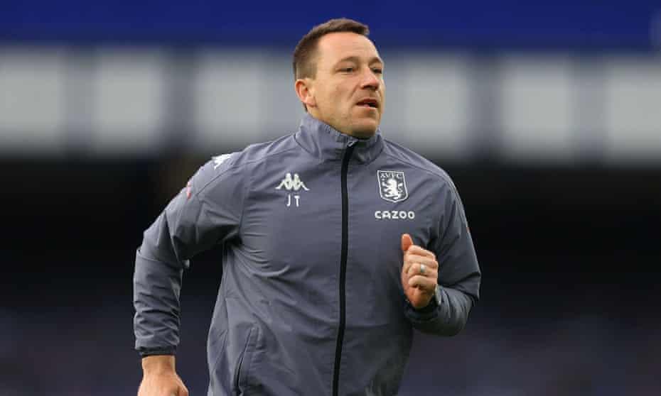 John Terry has been an assistant to Dean Smith at Aston Villa.
