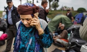 For the thousands of displaced men, women and children in refugee camps around Europe, mobile phones provide a vital connection with home.