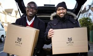 Leon Ifayemi and Omar Fahmi, the founders of SPCE.