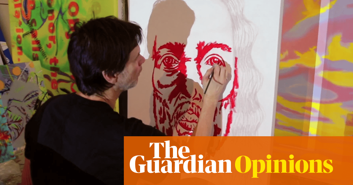 Jim Carrey's art is proof Hollywood stars should avoid the canvas