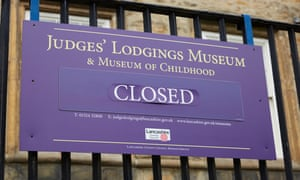 The Judges' Lodgings Museum in Lancaster, which closed in 2016