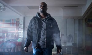 Mike Colter as Marvel's Luke Cage
