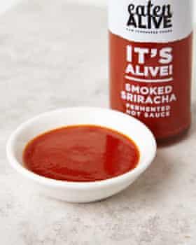 Eaten Alive smoked sriracha.