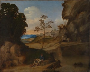 Il Tramonto from In the Age of Giorgione, Royal Academy.