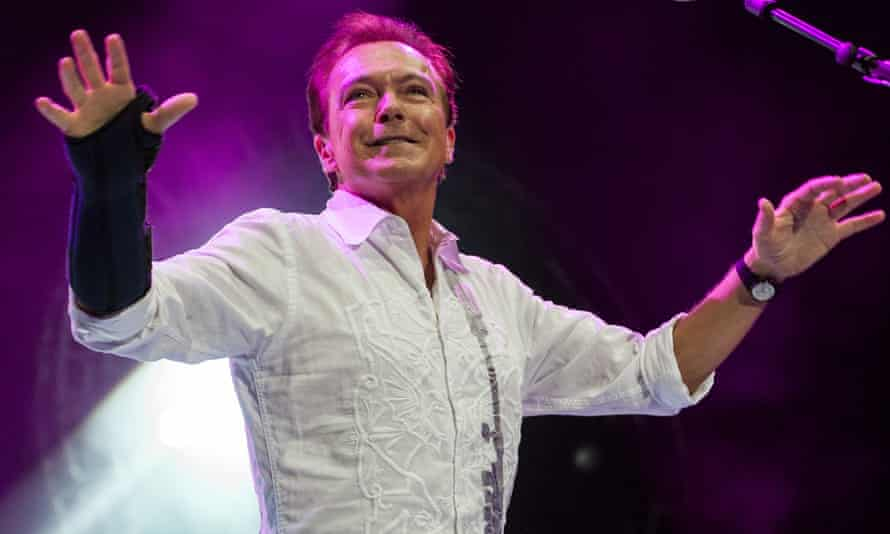 David Cassidy during a 2009 performance in Birmingham, UK.
