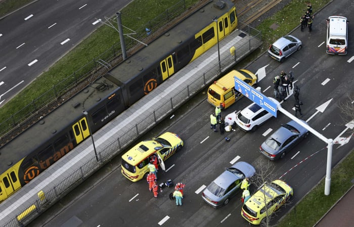 Utrecht tram shooting suspect arrested after three killed