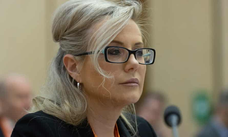 NBN Co's chief operating officer Kathrine Dyer spoke to the inquiry on Tuesday.