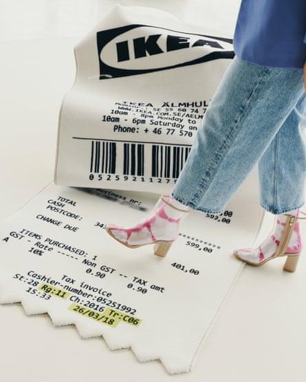 The receipt rug.