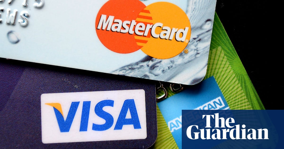 Britons pay back most on debt in 27 years as credit card spending slumps