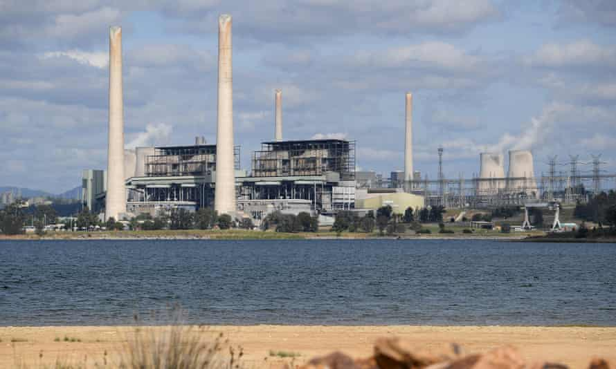 The Liddell power station in the NSW Hunter Valley region.
