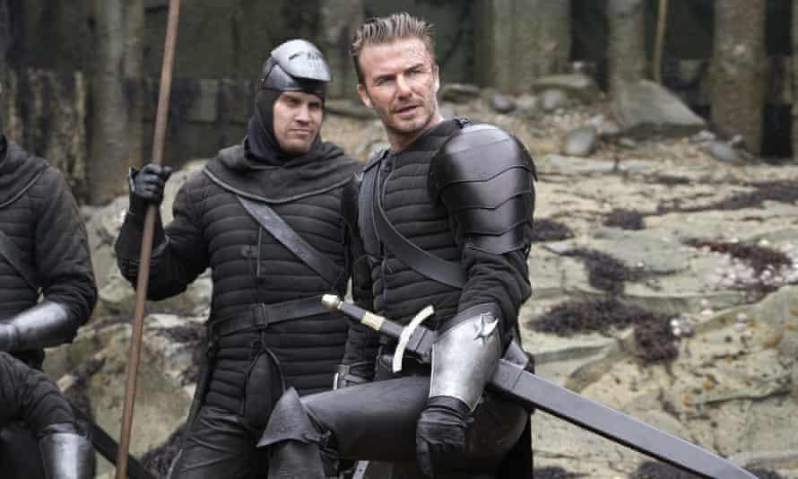 David Beckham as Trigger in King Arthur: Legend of the Sword.