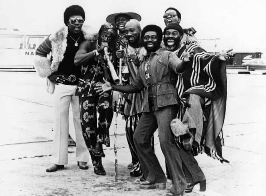Vitality and spontaneity … Osibisa in the early 1970s.