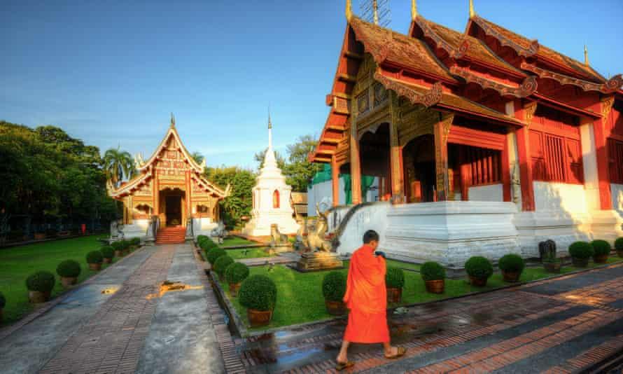 Wat Phra Singh, Chiang Mai, Thailand.