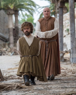 Peter Dinklage and Conleth Hill: 'I'd be happy if this show was 90% comprised of Varys and Tyrion strolling round exchanging quips.'