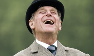 Laugh a minute. The media went into full genuflection mode after the announcement that Prince Philip was slowing down.