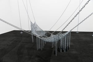 Monica Bonvicini, Chain Leather Swing, 2009.