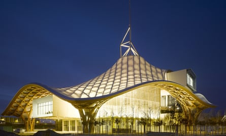 The Pompidou centre in Metz.