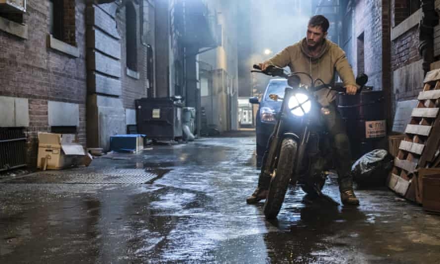Tom Hardy in the 2018 film Venom, made by Blackhall Studios who want to build new studios in Reading.