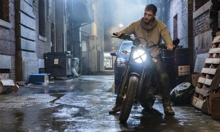 Tom Hardy in Venom.