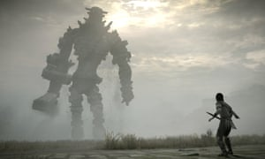 A masterpiece … Shadow of the Colossus.