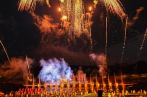 The biggest live event since the 2012 Olympics … the finale of Kynren.
