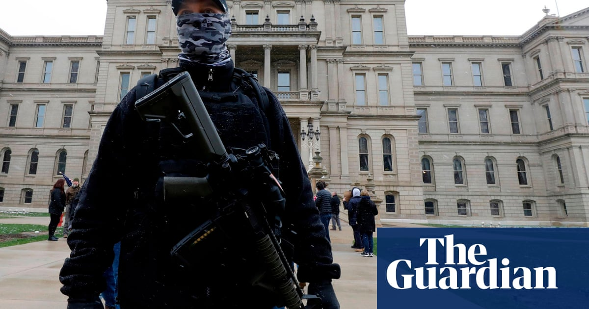 US militias forge alliances with conspiracy theorists ahead of election
