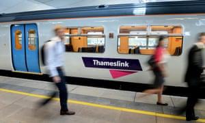 A Govia Thameslink train