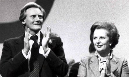 Michael Heseltine, left, may have wielded the knife, but it was John Major who ended up succeeding Margaret Thatcher.