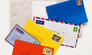 Lots of envelopes