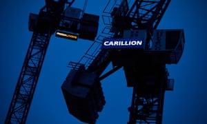 Carillion cranes in Manchester