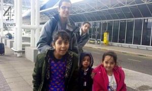 Dawood family leaving for Syria.