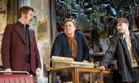 Damian Lewis, John Goodman and Tom Sturridge in David Mamet's American Buffalo at the Wyndham's Theatre, London, in 2015.
