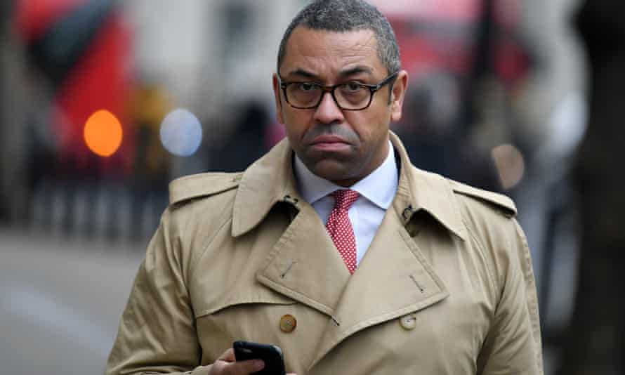 The Foreign Office minister James Cleverly had a Parler account.