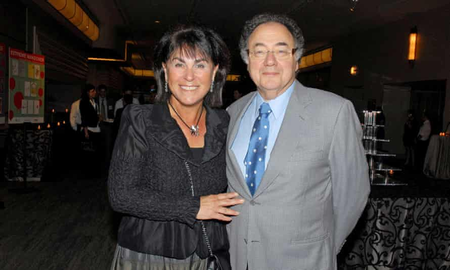 Honey and Barry Sherman in August 2010. The pair were known for their donations to hospitals, universities and Jewish organizations.