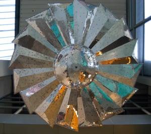 Pink Floyd's petal mirrorball stage prop, used between 1973-1975