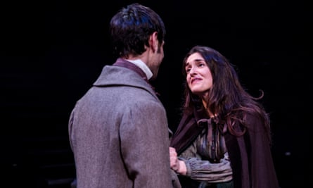 Structural difficulties … The Tenant of Wildfell Hall, with Phoebe Pryce in the title role.