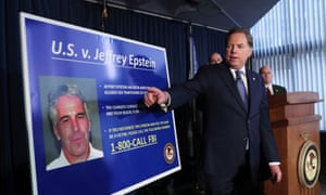 Jeffrey Epstein was arrested and charged in July with the sex trafficking of the minors.