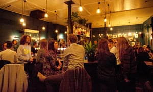 The Spread Eagle, on Homerton High Street, Hackney, attracted a crowd on its opening night.
