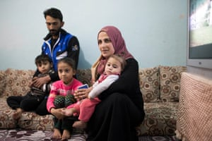 Ahmed, Rukeyye and their children