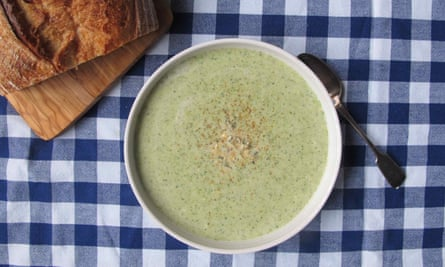 Perfect broccoli and stilton soup