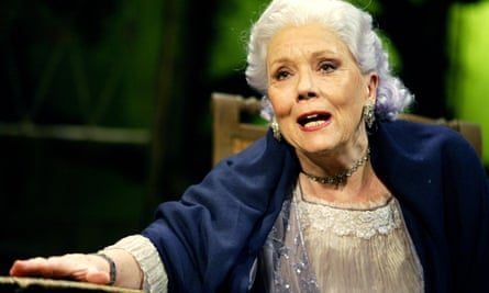Rigg as Mrs Venable in Michael Grandage's 2004 West End revival of Tennessee Williams's Suddenly Last Summer