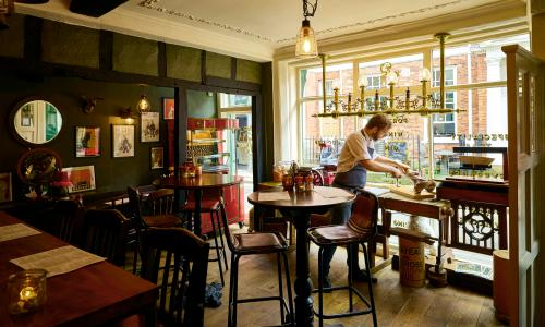 Mr Ps Curious Tavern York Exhausting Restaurant