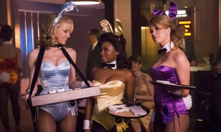 Amber Heard, Naturi Naughton and Leah Renee in The Playboy Club, which was cancelled after just three episodes.
