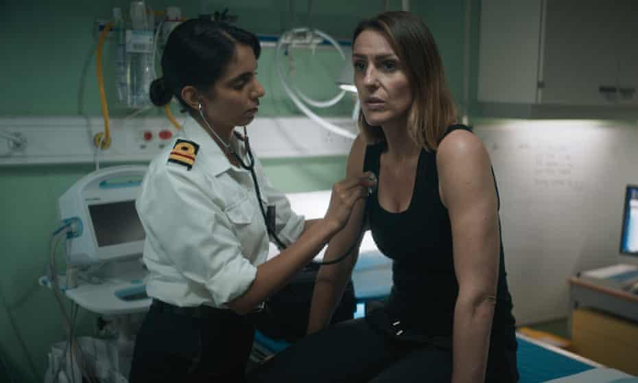Medical officer Doherty (Anjli Mohindra) and DCI Silva (Suranne Jones).