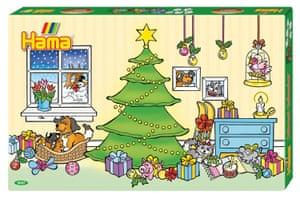 Hama beads calendar, amazon.co.uk