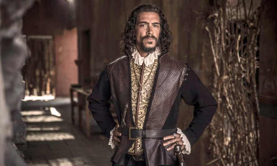 Óscar Jaenada Gajo as Hernán Cortés in the TV series Hernán